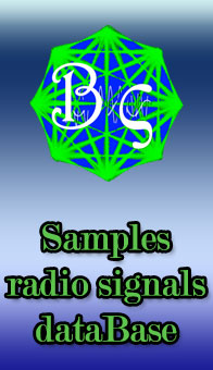 Samples radio signals dataBase